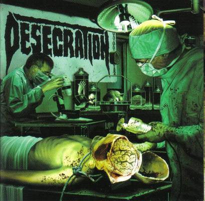 Desecration - Forensix CD