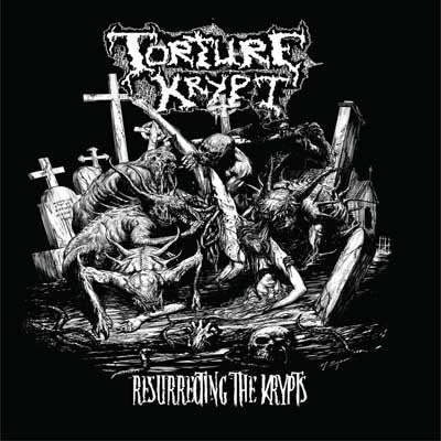 TORTURE KRYPT |  Resurrecting The Krypts SLIPCASE CD