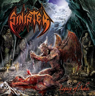 SINISTER | Legacy Of Ashes CD