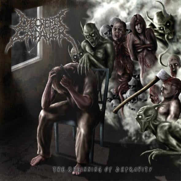 DECREPIT CADAVER | The Beginning of Depravity CD