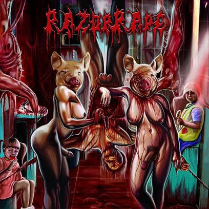 RAZOR RAPE | Revenge of the Hermaphrodite Whores CD