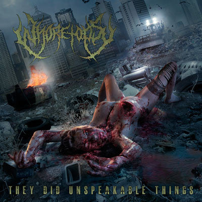 WHORETOPSY | They Did Unspeakable Things CD