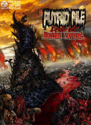 PUTRID PILE | Live at Obscene Extreme 2011 DVD