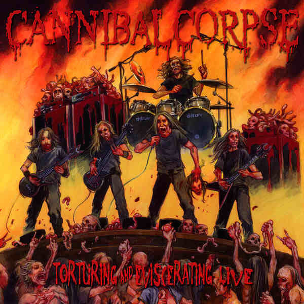 CANNIBAL CORPSE | Torturing and Eviscerating Live CD