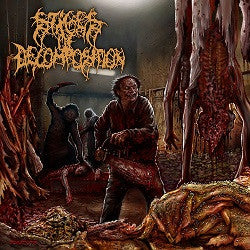STAGES OF DECOMPOSITION | Piles of Rotting Flesh DIGIPACK CD
