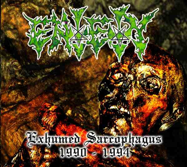 ENTETY | Exhumed Sarcophagous 1990-1994 DIGIPACK CD