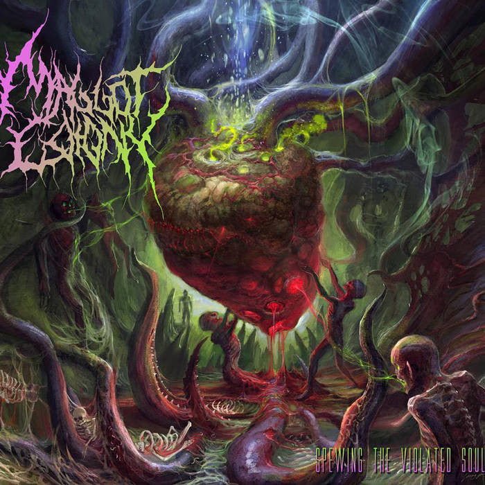 MAGGOT COLONY | Spewing the Violated Souls EP CD