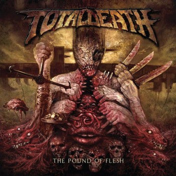 TOTAL DEATH | The Pound of Flesh CD