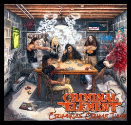 Criminal Element - Criminal Crime Time CD