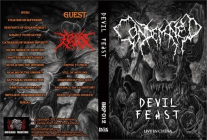 Condemned – Devil Feast DVD