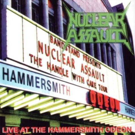 NUCLEAR ASSAULT | Live at the Hammersmith Odeon CD