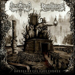 Abrekadaver / Praise The Flame | Hordes of the Fire Throne (Congregation from the Unholy Death) Split CD