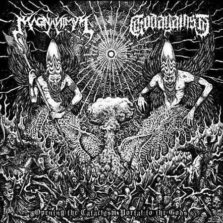 GODAGAINST | MAGNANIMUS - Opening the Cataclysm portal to the Gods  VINYL 7'