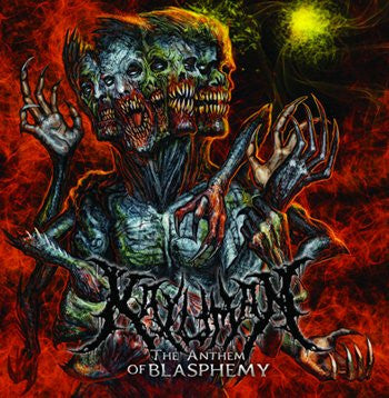 Kaluman |  The Anthem Of Blasphemy CD