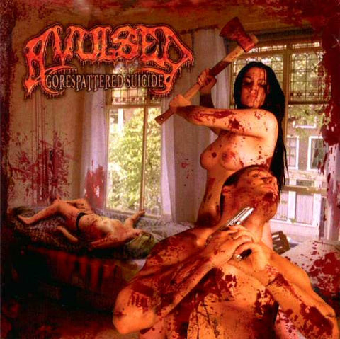 Avulsed -  Gorespattered Suicide CD