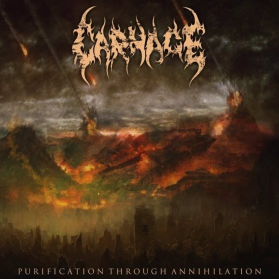 Carnage  ‎– Purification Through Annihilation CD
