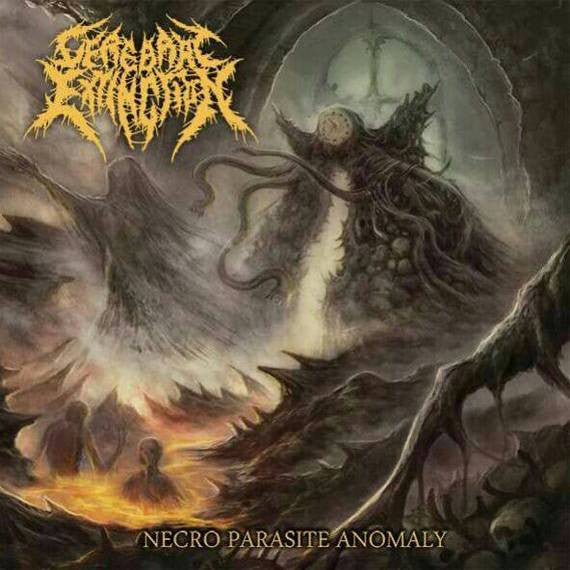 Cerebral Extinction - Necro Parasite Anomaly (CD, Album)