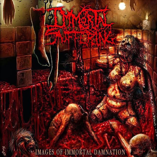 IMMORTAL SUFFERING | Images of Immortal Damnation CD