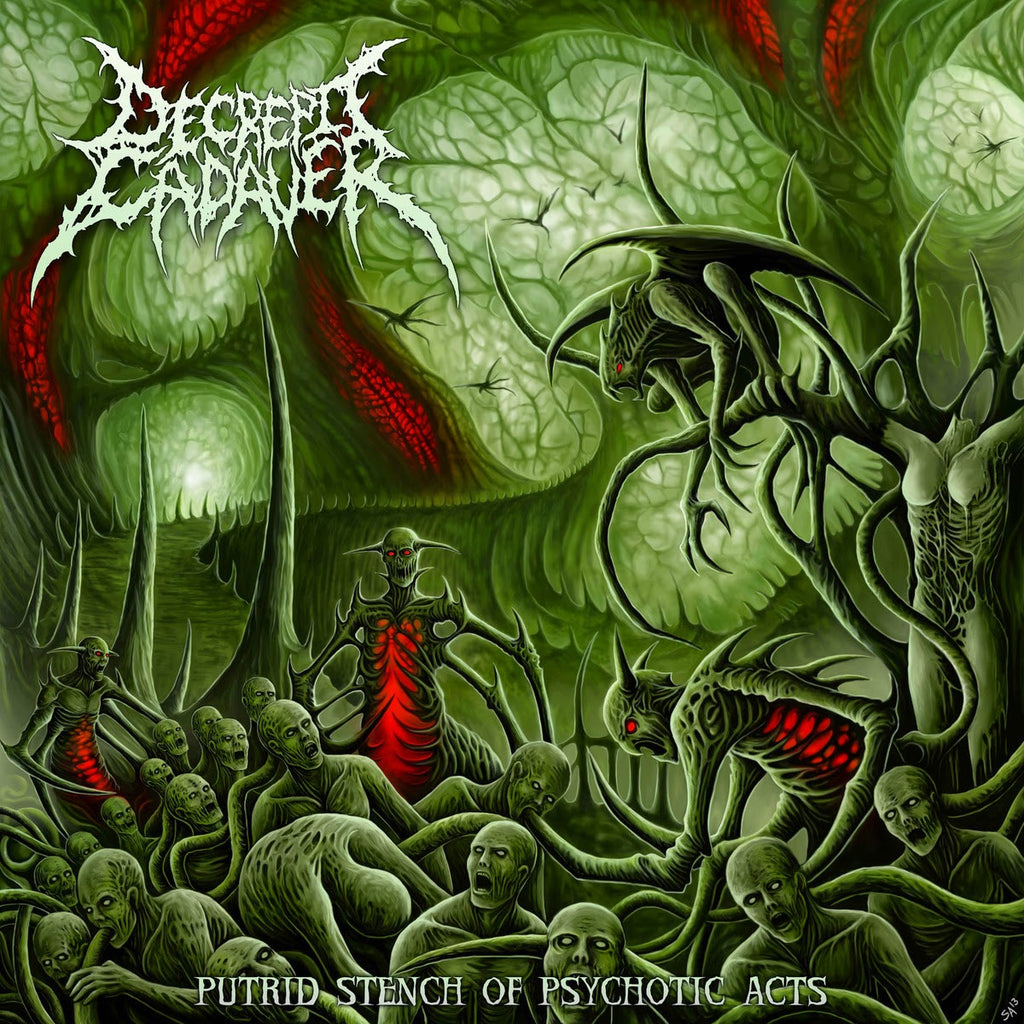 DECREPIT CADAVER | Putrid Stench of Psychotic Acts CD
