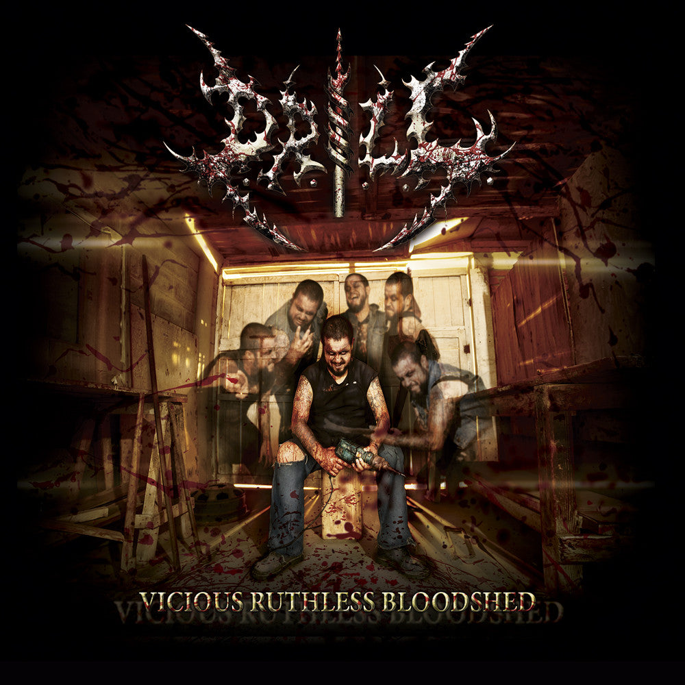 DRILL | Vicious Ruthless Bloodshed DIGIPACK CD