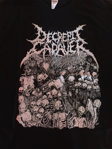 Decrepit Cadaver - Inhumanity awaits for its blood feast -  Black TS