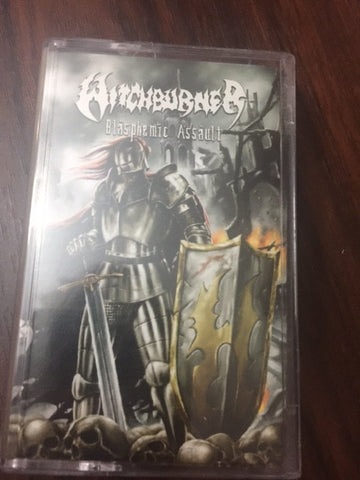 Witchburner ‎– Blasphemic Assault CASSETTE