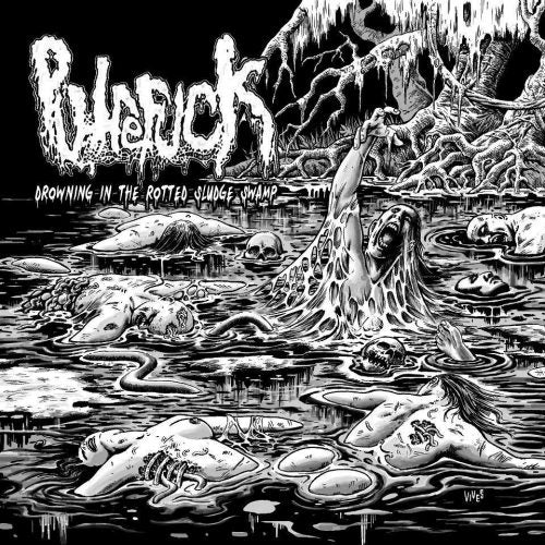 Putrefuck ‎– Drowning In The Rotted Sludge Swamp CD