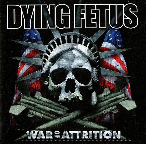 Dying Fetus ‎– War Of Attrition LP VINYL 12'