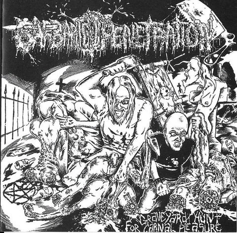 Barbaric Penetration ‎– Graveyard Hunt For Carnal Pleasure CDR