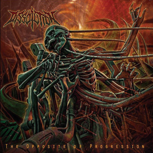 Dissolution ‎– Opposite Of Progression CD