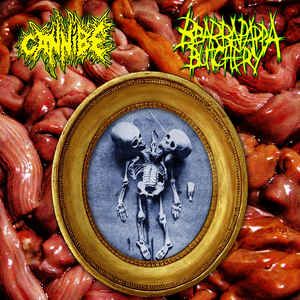 Cannibe / Bbarbapappa Butchery ‎– Split PRO CD-R