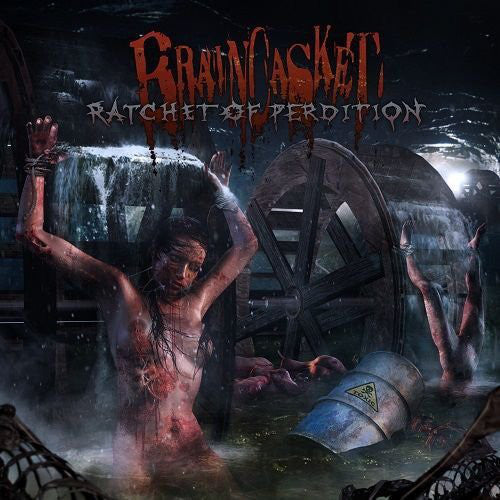 Braincasket ‎– Ratchet Of Perdition CD