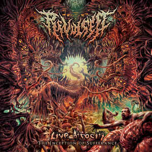 Revulsed ‎– Live Atrocity - The Inception of Sufferance 2CD