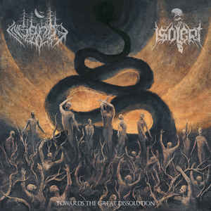 Insanity Cult / Isolert ‎– Towards The Great Dissolution SPLIT CD