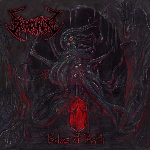 Devouring ‎– Psalms Of Death CD
