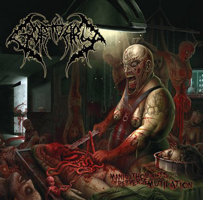 Gortuary ‎– Manic Thoughts Of Perverse Mutilation CD