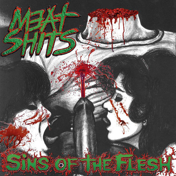 Meat Shits ‎– Sins Of The Flesh CD