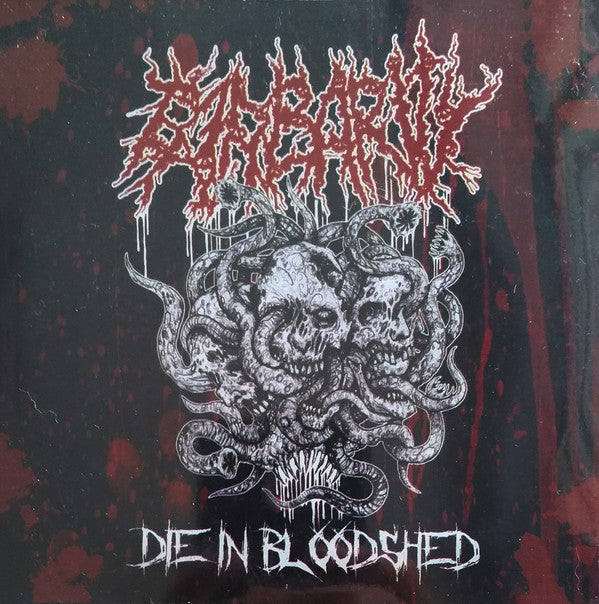 Barbarity ‎– Die In Bloodshed CD