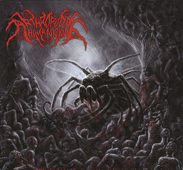 Arthropodal Humanicide ‎– Hegemony Of The Arthropods CD