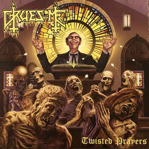 Gruesome ‎– Twisted Prayers LP VINYL 12' Purple