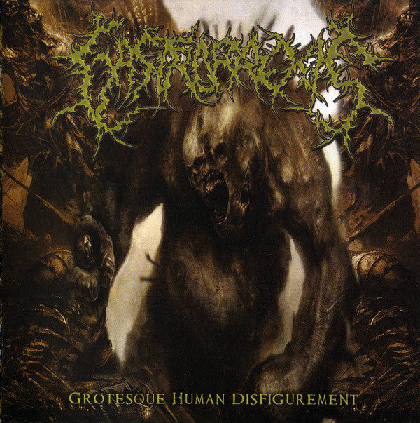 Gastrorrexis ‎– Grotesque Human Disfigurement CD