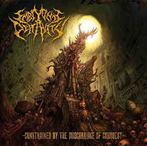 Embryonic Depravity ‎– Constrained By The Miscarriage Of Conquest CD