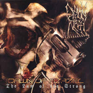 DAWN OF AZAZEL | The Law Of The Strong CD
