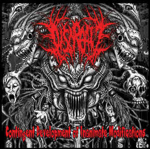 DISCREATE - Contingent Development of Inanimate Modifications EP CD