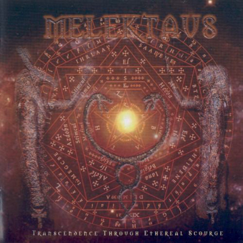 Melektaus ‎– Transcendence Through Ethereal Scourge CD