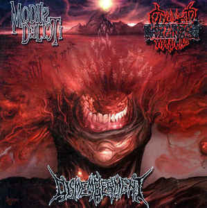 Modus Delicti / Clitoridus Invaginatus / Dismemberment (2) ‎– 3 Way Split CD