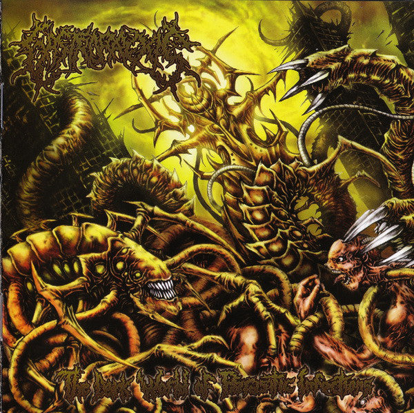 Gastrorrexis ‎– The Dark World Of Parasitic Infection CD