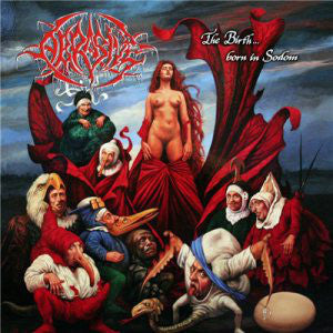 ABRASIVE | The Birth...Born In Sodomy CD