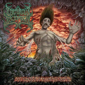 TORTUROUS INCEPTION | The Parable Of Scorched Earth CD