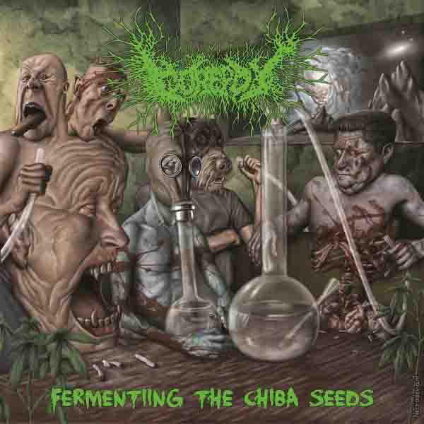 Gorepot ‎– Fermenting The Chiba Seeds  CD